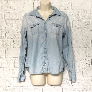 Women's American Eagle Outfitters Button Down Top